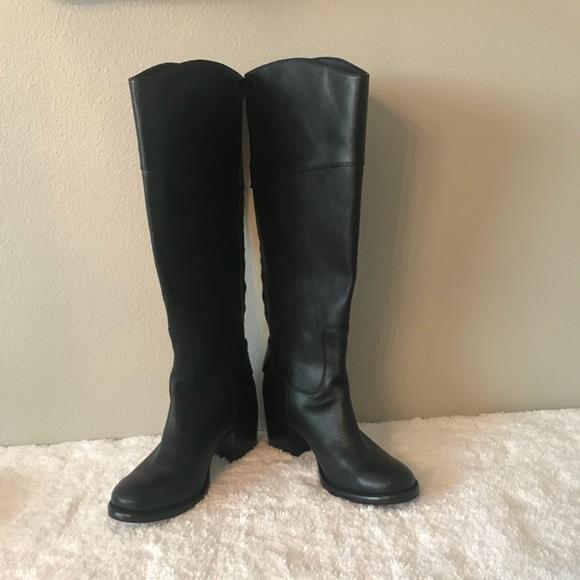 29f2221c5d2 Patricia Nash- Black Loretta Tall Boots